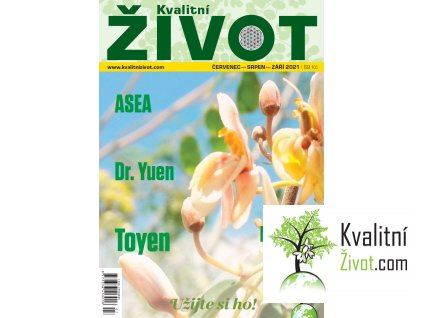 Tištěný časopis Kvalitní ŽIVOT červenec - září  2021