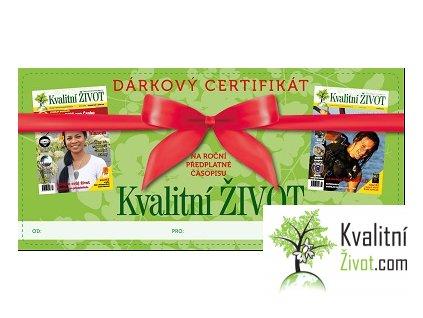 Časopis Kvalitní ŽIVOT Roční Předplatné  SLOVENSKO -doručování do schránky