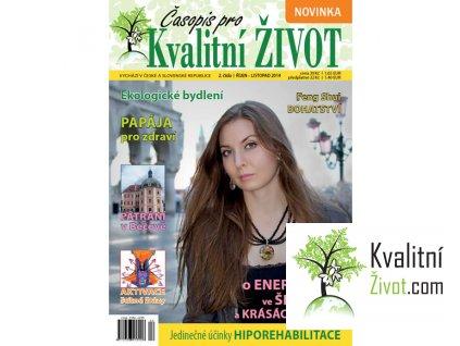 Časopis pro Kvalitní ŽIVOT  2.číslo (říjen - listopad 2014)
