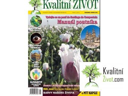 Časopis pro Kvalitní ŽIVOT 7.+ 8. ČERVENEC+SRPEN 2016 tištěný
