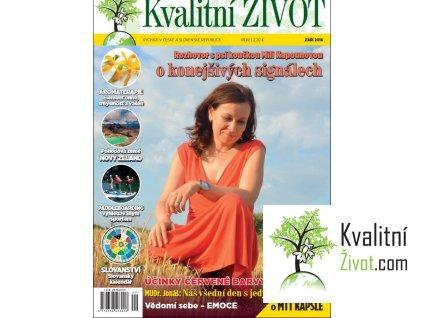 Časopis Kvalitní ŽIVOT 9. ZÁŘÍ 2016 tištěný