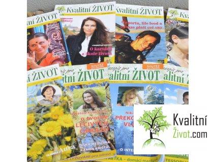Sada 2014 + 2015 + 2016  časopis Kvalitní ŽIVOT