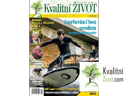 Časopis Kvalitní ŽIVOT 5. číslo KVĚTEN 2016 tištěný