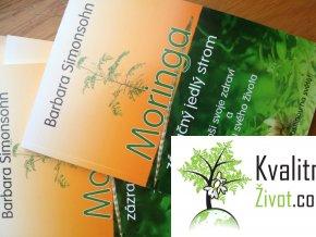 Kniha Moringa Zázračný jedlý strom jediná v češtině Tištěná verze