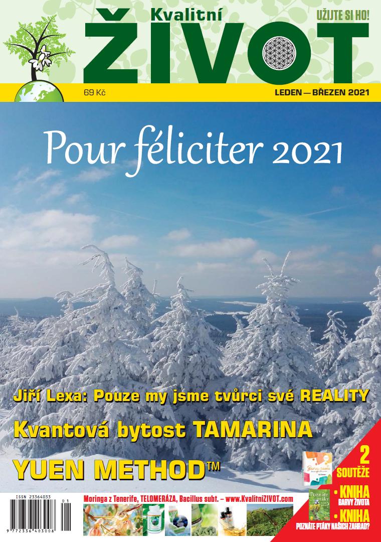 Časopis Kvalitní ŽIVOT leden-březen 2021