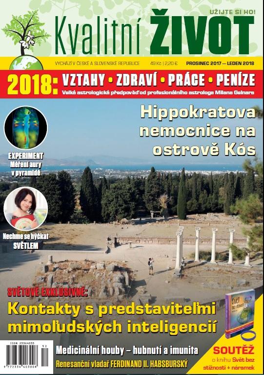 Elektronický Časopis Kvalitní ŽIVOT PROSINEC 2017 + LEDEN 2018