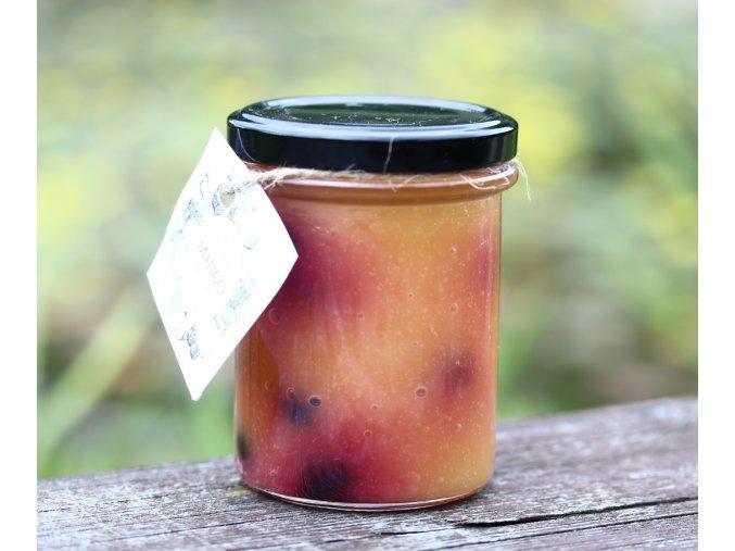 Low carb džem mango s borůvkou