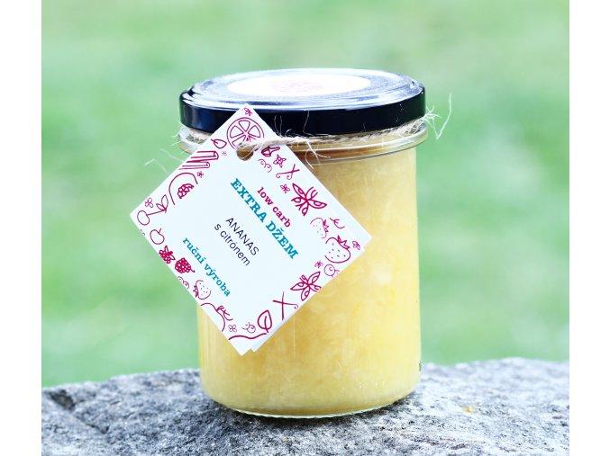 Low carb citrónová marmeláda