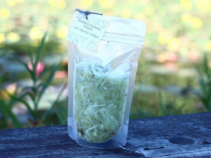 Kvašená zelenina s okurkou, 500g