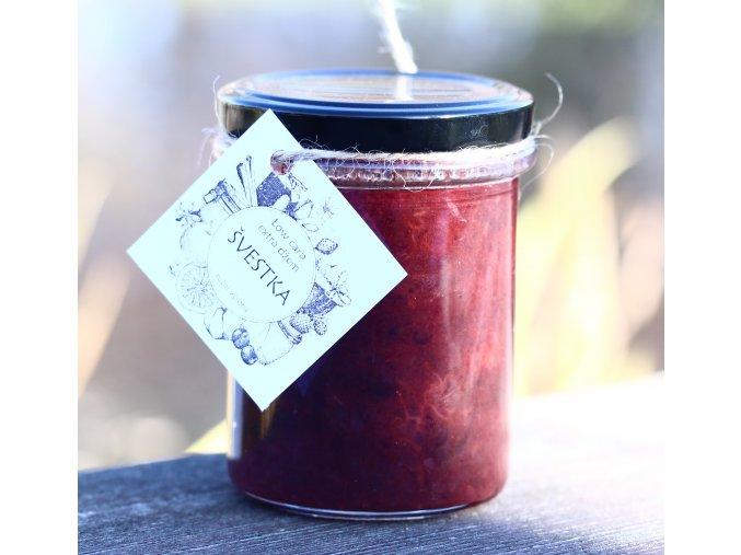 Low carb švestkový džem