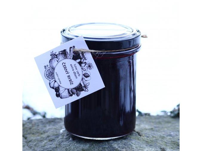 Low carb džem z černého rybízu