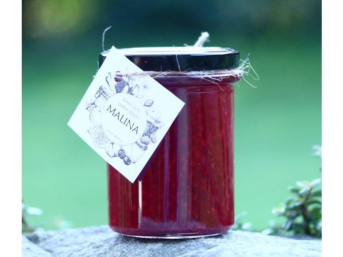 Low carb malinový džem