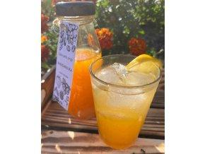 Sirup bez cukru mandarinka