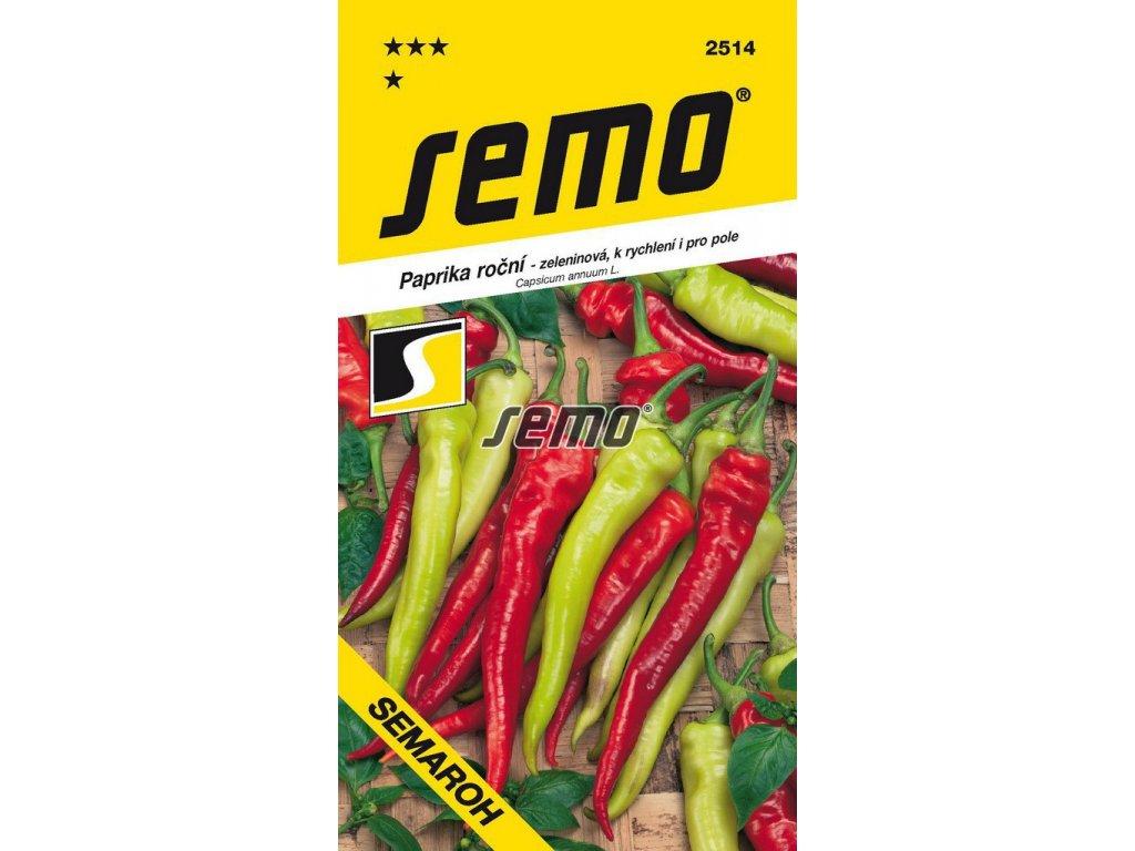 2514 semo zelenina paprika rocni semaroh