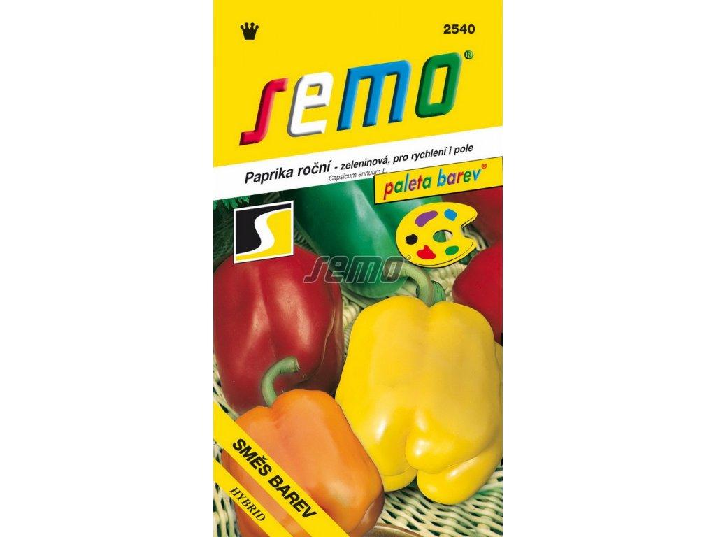 2540 semo zelenina paprika rocni smes barev zeleninova