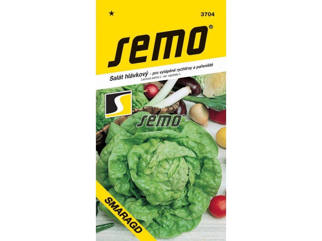 3704 semo zelenina salat hlavkovy smaragd s