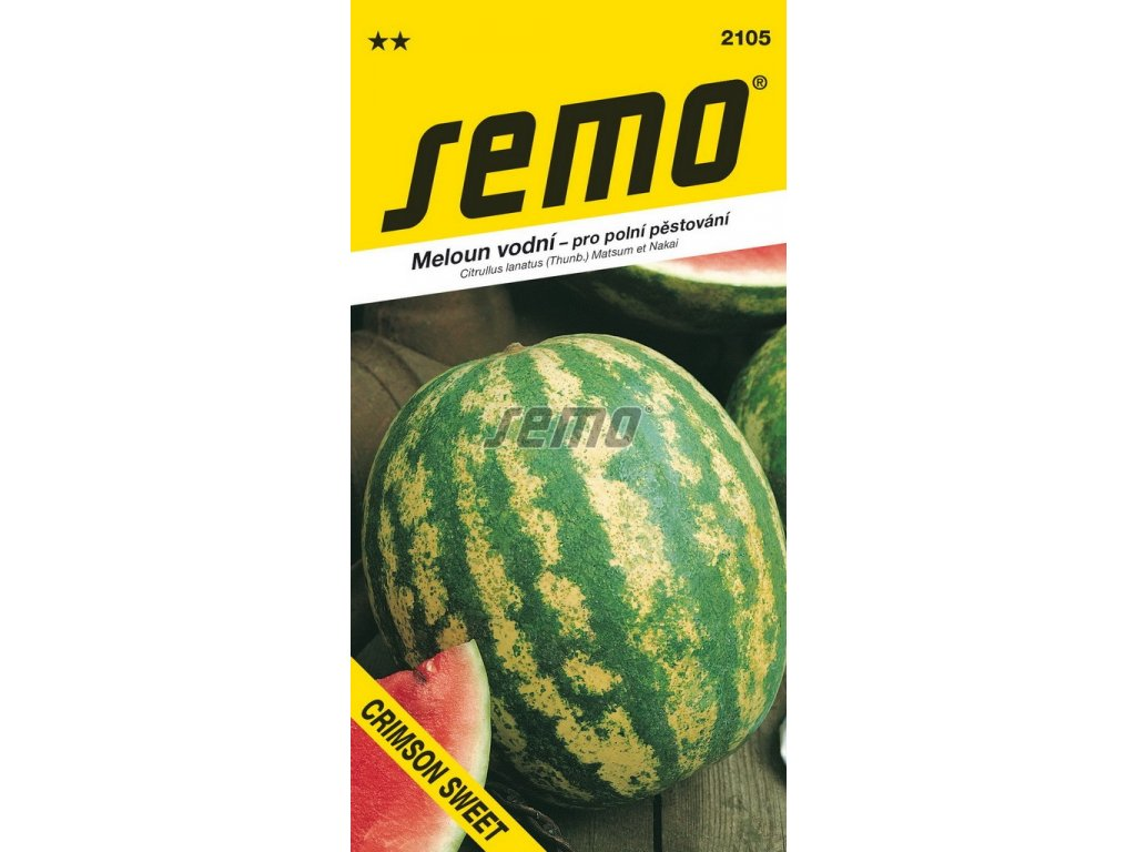 2105 semo zelenina meloun vodni crimson sweet