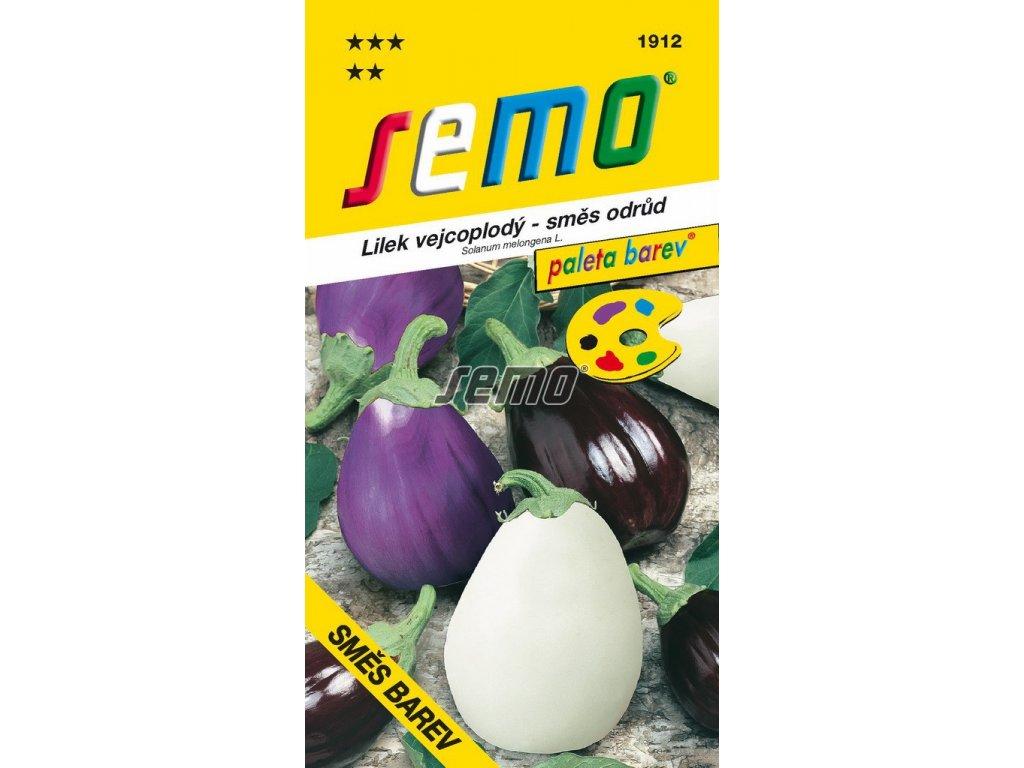 1912 semo zelenina lilek vejcoplody smes barev