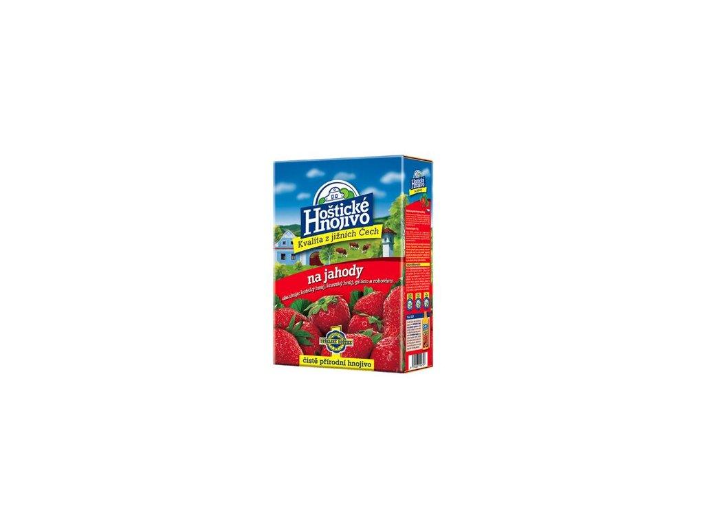 Hoštické - jahody 1 kg s guánem