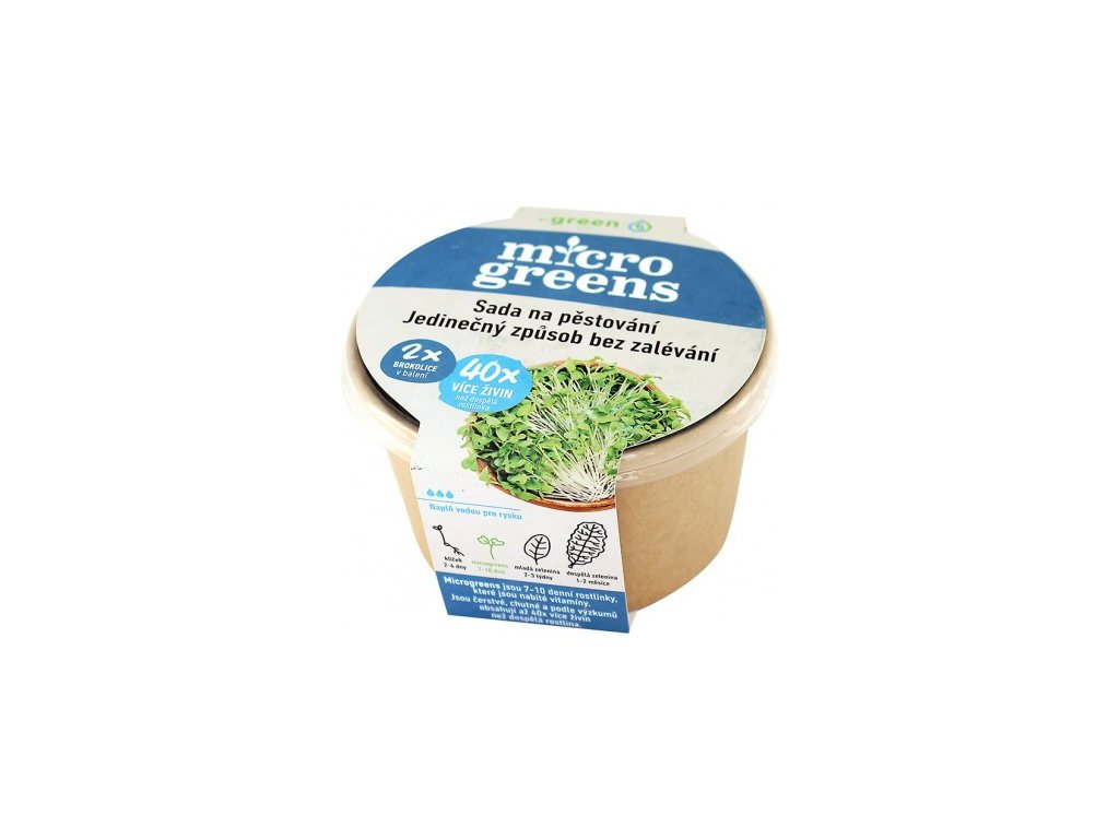 microgreens brokolice