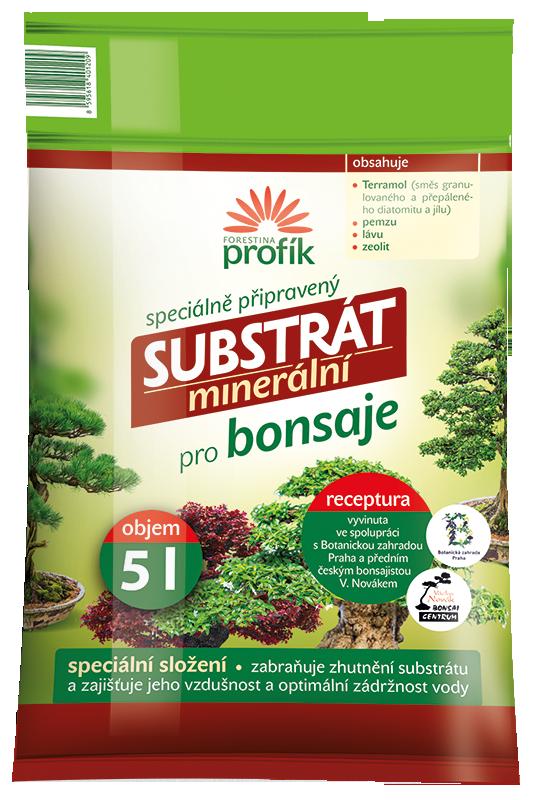 Substrát Forestina Profík - Bonsaje 5 l