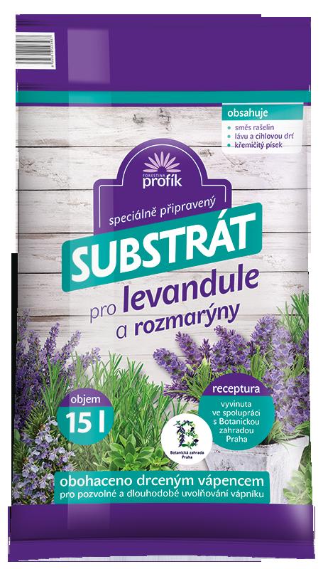 Substrát Forestina Profík - Levandule, rozmarýny 15 l