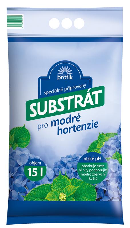 Substrát Forestina Profík - Speciální pro modré hortenzie 15 l
