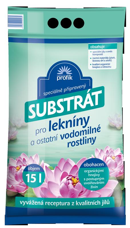 Substrát Forestina Profík - Vodní rostliny 15 l