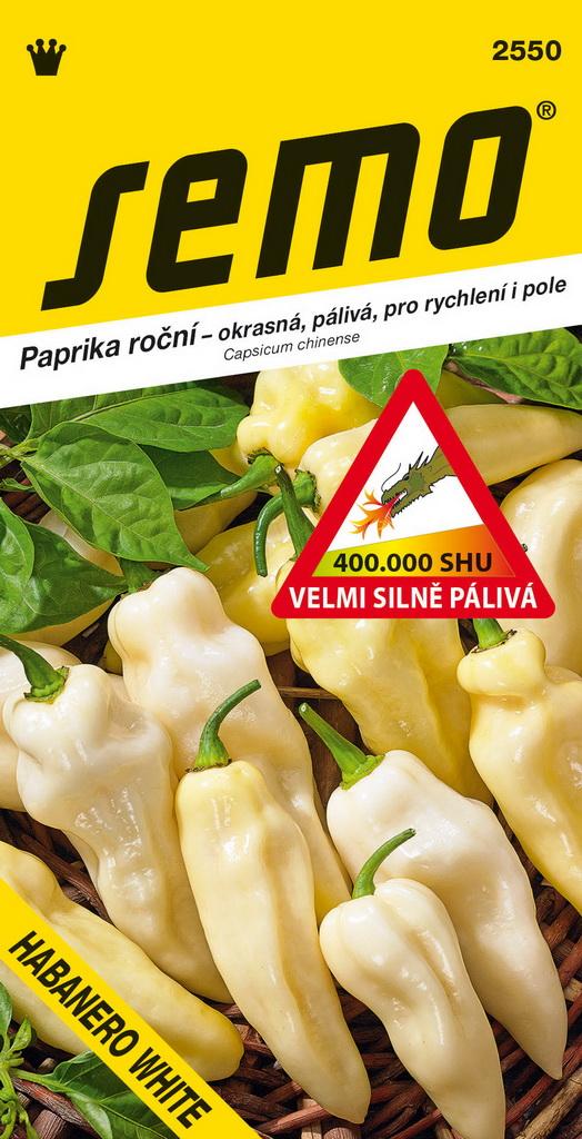 Paprika zel. pálivá - Habanero White 15s /SHU 400 000/