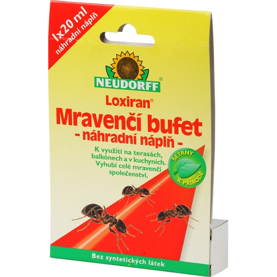 Loxiran Neudorff - mravenčí bufet náhradní náplň (1ks)