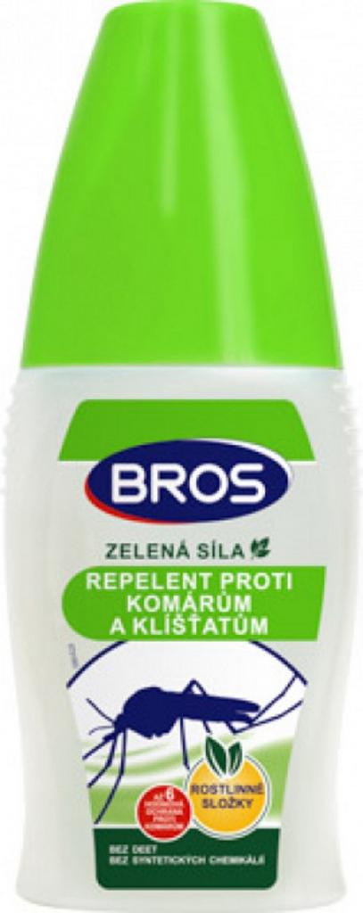 Bros - Zelená síla repelent proti komárům a klíšťatům 50 ml