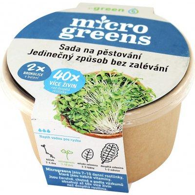 Microgreens brokolice sada na pěstování