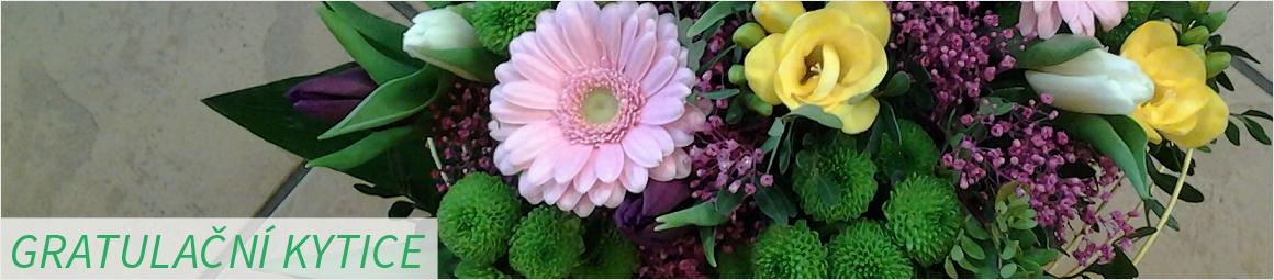 Gratulační květiny