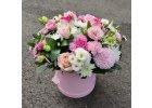 Květiny v krabičkách