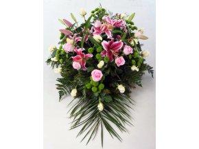 Kytice Růže-Lilie