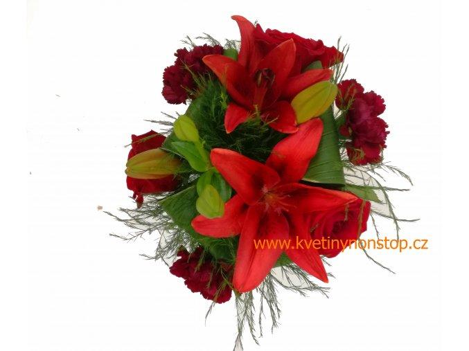 lilie červena 1