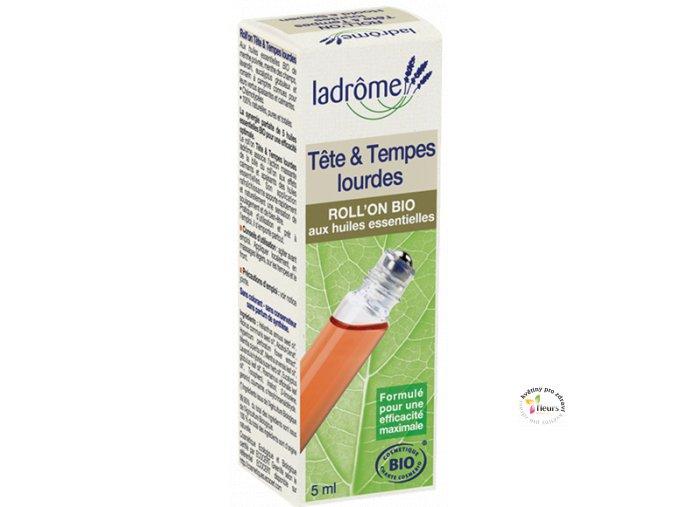 Ladrôme - Roll-on bolest hlavy&tlak ve spáncích - 5 ml BIO