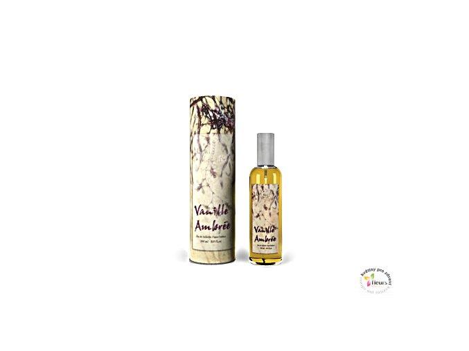Toaletní voda 100 ml - Vanilka ambra