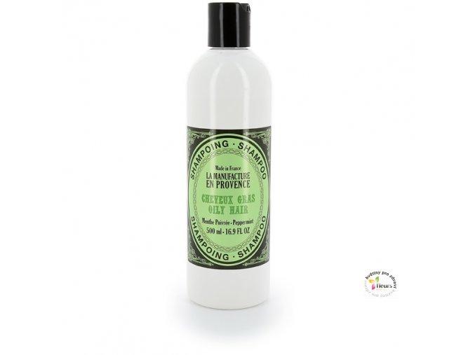 šampon mastné vlasy