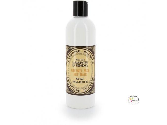 šampon suché vlasy