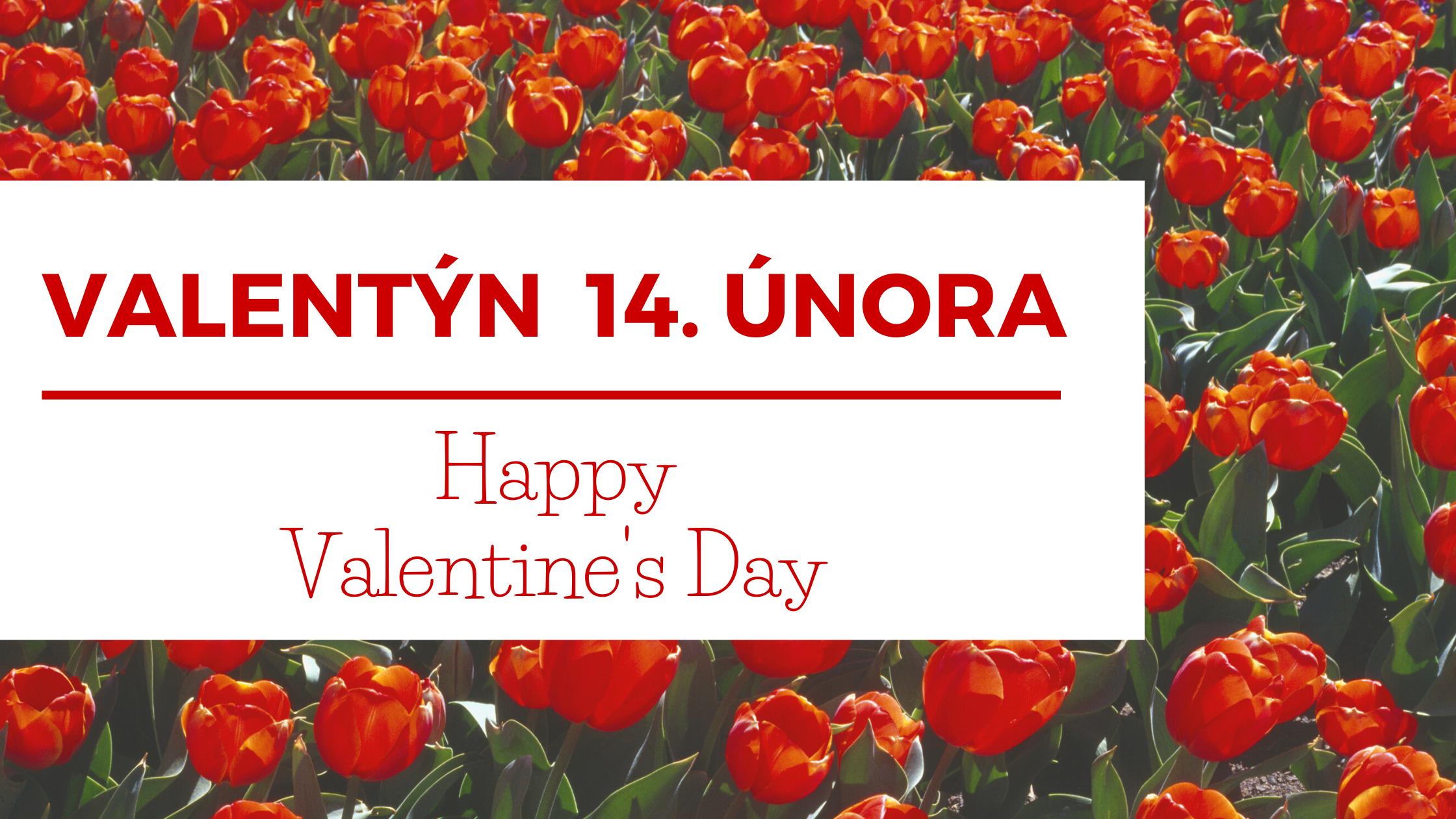 Valentýn je svátek všech zamilovaných