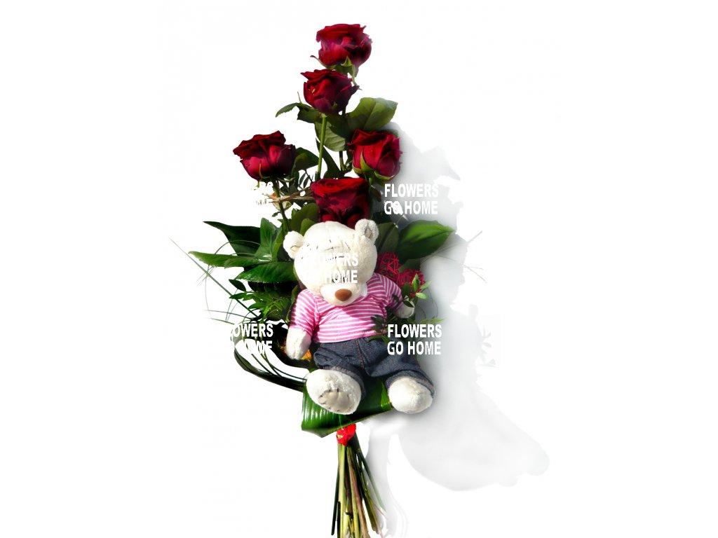Květina k Valentýnu