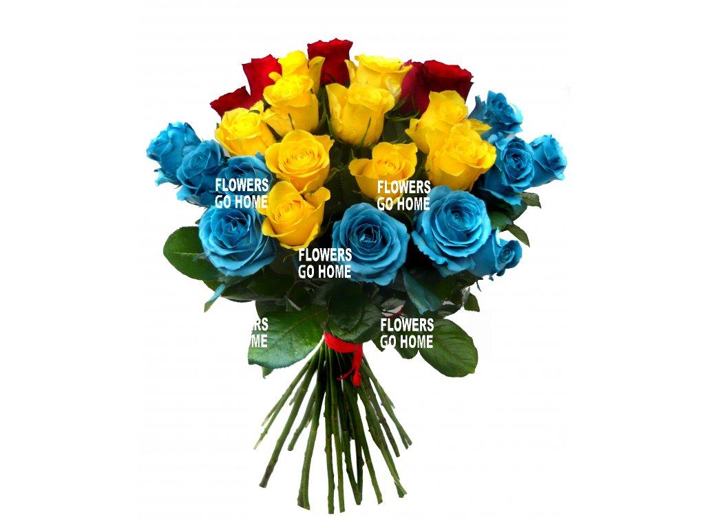 Sparťanská kytice růží