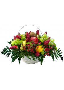 Koš plný ovoce