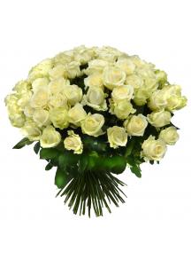 Bílé růže 30ks a více...