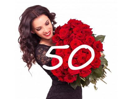 50 růží