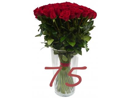 75 růží