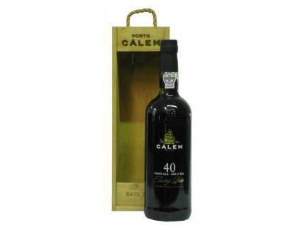 Portské víno CÁLEM 40 YEARS OLD