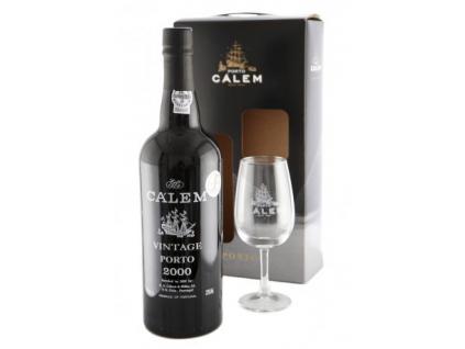 Portské víno CÁLEM VINTAGE 2000