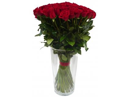 Červené růže 30ks a více...